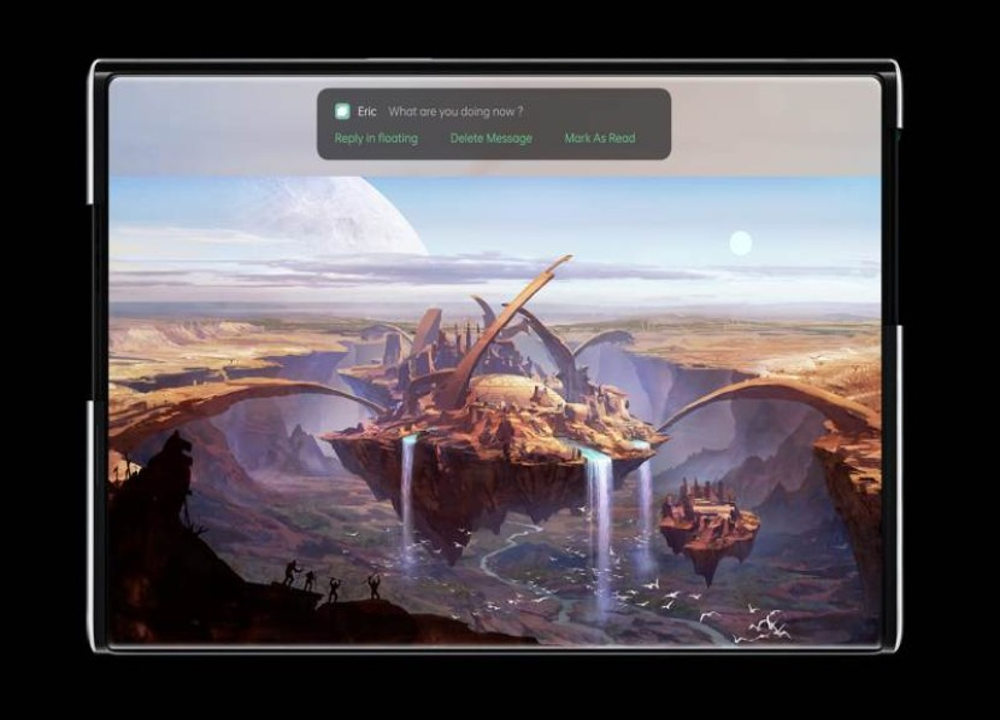 Oppo X 2021: Αυτό είναι το concept για smartphone με τυλιγόμενη οθόνη