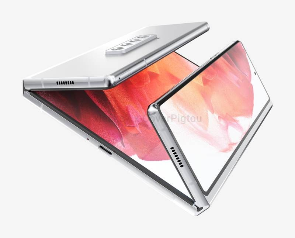 Samsung Galaxy Z Fold3: Concept βασισμένο σε πατέντα της εταιρείας για αναδίπλωση στα τρία