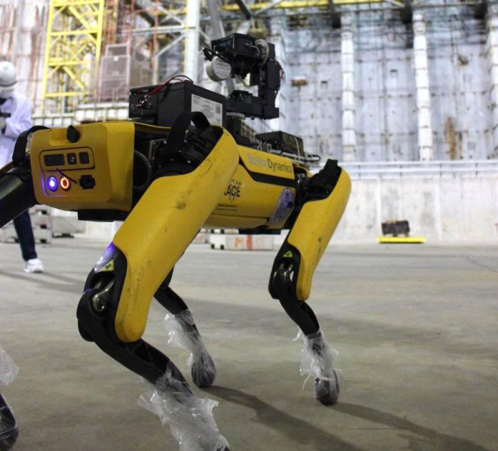Spot: Το ρομπότ-σκύλος δίνει λύση στο Chernobyl!