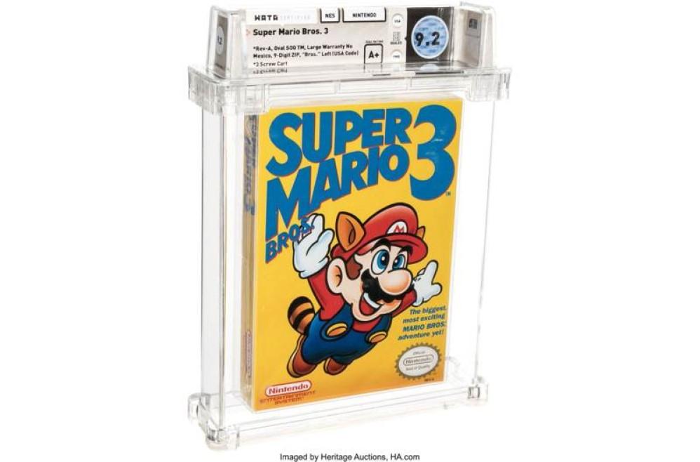 Ρεκόρ: Σφραγισμένο αντίτυπο του Super Mario Bros. 3 πωλήθηκε έναντι $156,000!