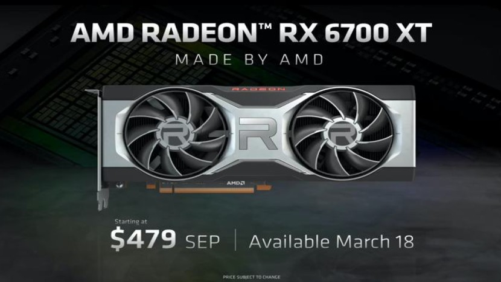 AMD Radeon RX 6700 XT: Για gaming σε ανάλυση 1440p/60fps με τιμή $479