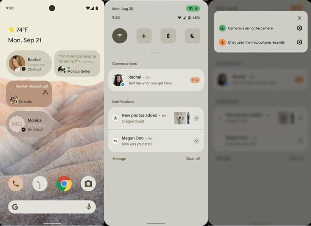 Android 12: Τι γνωρίζουμε μέχρι στιγμής για τα νέα χαρακτηριστικά