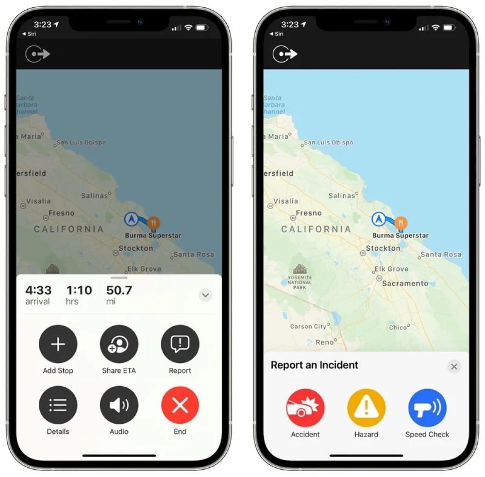 Apple Maps: Έρχεται λειτουργία επισήμανσης ατυχημάτων, ραντάρ τροχαίας κλπ.