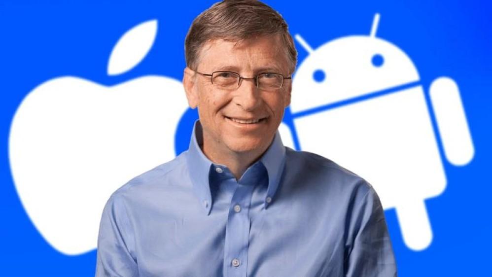 Bil Gates: Εξήγησε γιατί χρησιμοποιεί Android smartphone αντί για iPhone