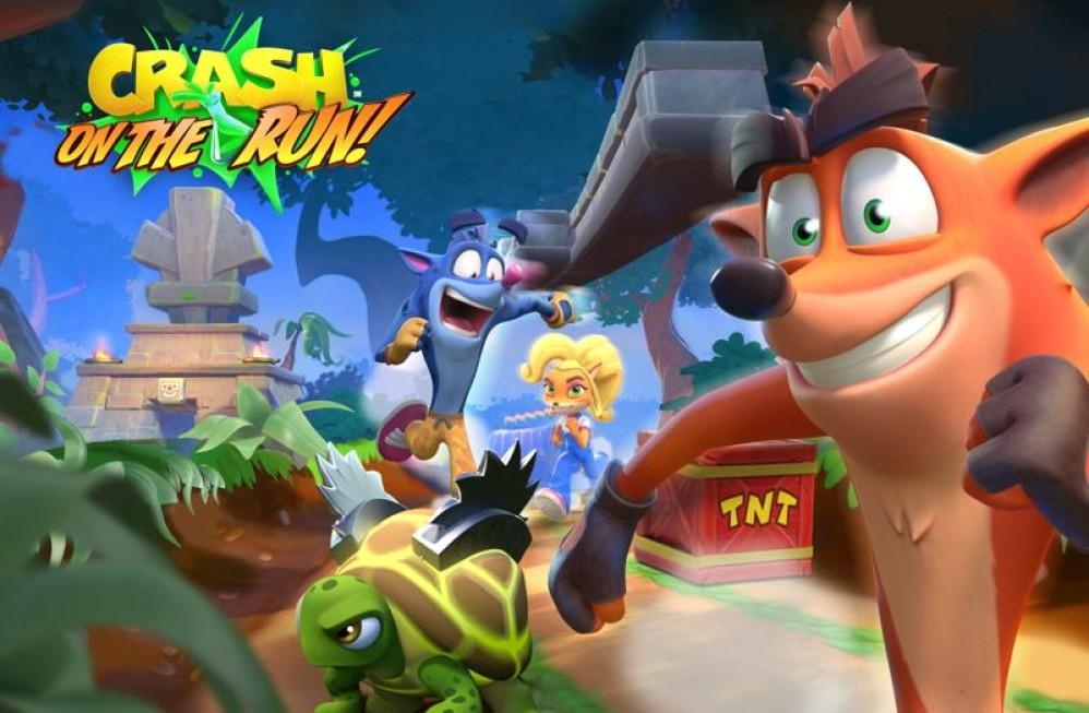 Crash Bandicoot: On the Run, έρχεται στις 25 Μαρτίου σε Android και iOS