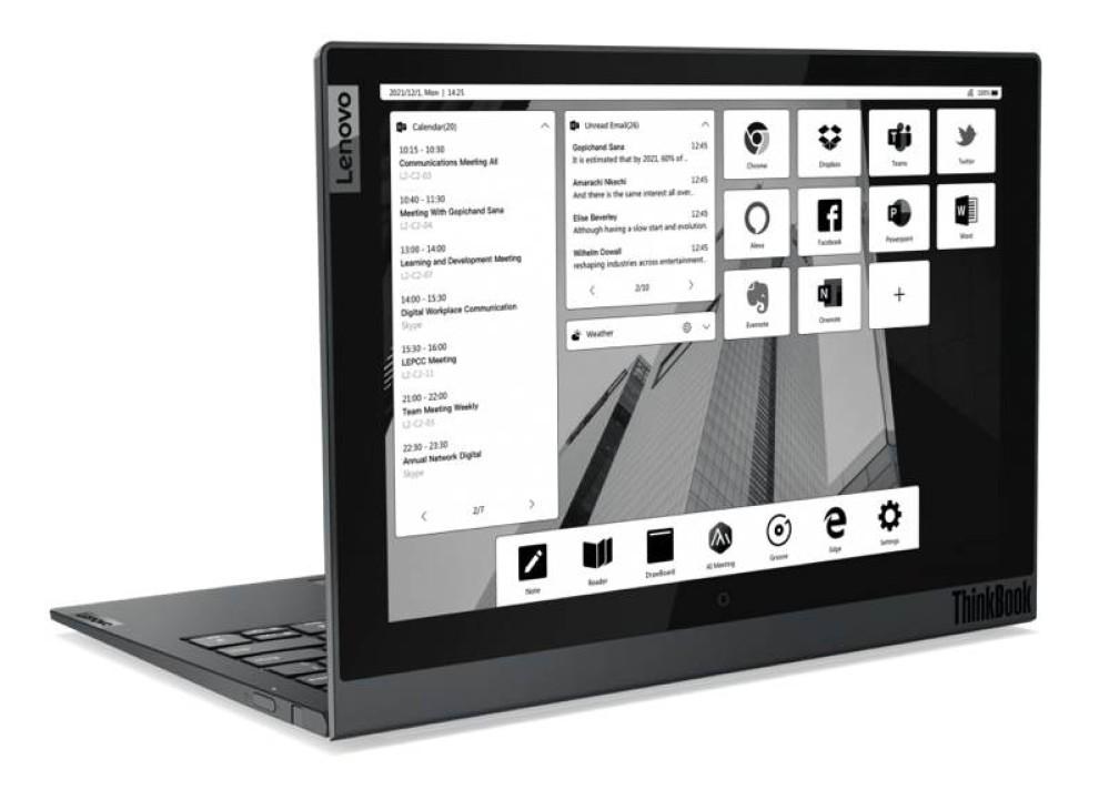 Lenovo ThinkBook: Τα νέα μοντέλα  για επαγγελματίες εν κινήσει και εργασία από απόσταση [CES 2021]