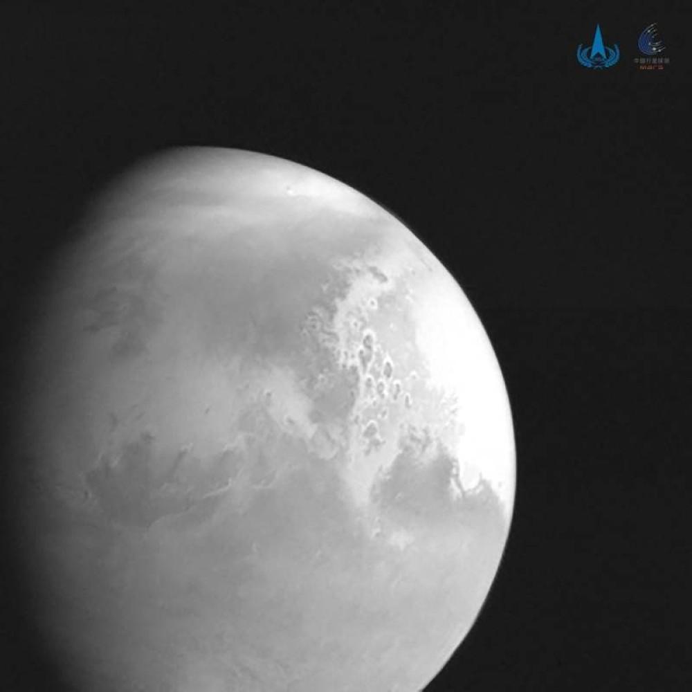 Tianwen-1: Λίγο πριν φτάσει στον πλανήτη Άρη, μας στέλνει μια εντυπωσιακή φωτογραφία του