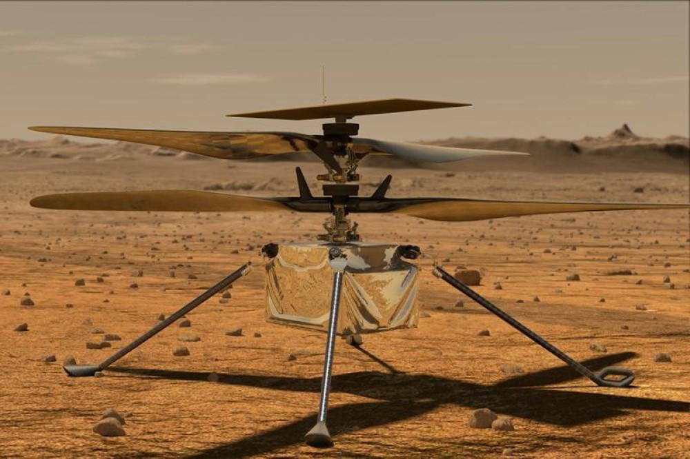 Ingenuity: Ετοιμάζεται για την πρώτη πτήση του στον πλανήτη Άρη