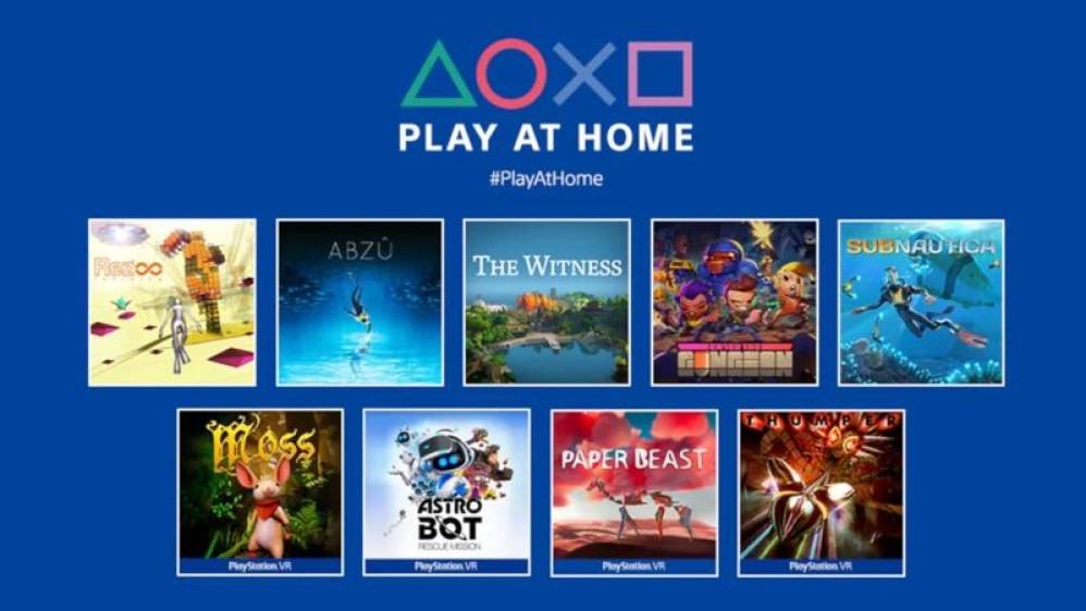Play at Home: 10 δωρεάν παιχνίδια για όλους τους κατόχους PlayStation από τη Sony!