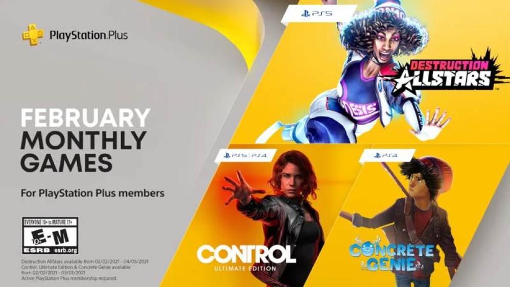 Με Control τα δωρεάν games του PS Plus για τον Φεβρουάριο!