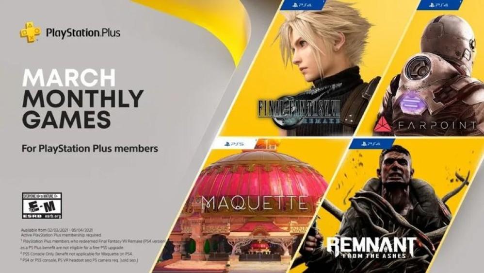 Final Fantasy VII Remake, διαθέσιμο στα δωρεάν games του PS Plus για το μήνα Μάρτιο!