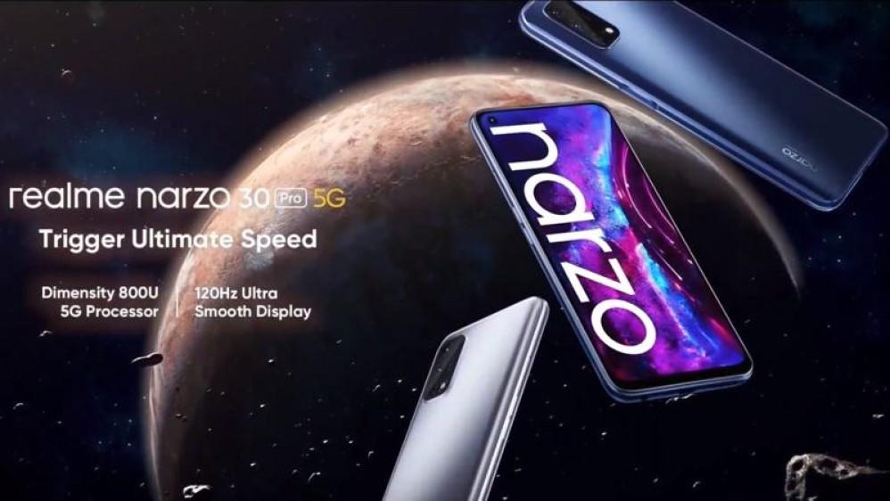 Realme Narzo 30 Pro 5G: Οθόνη 120Hz, 5G και μπαταρία 5000mAh σε πολύ χαμηλή τιμή