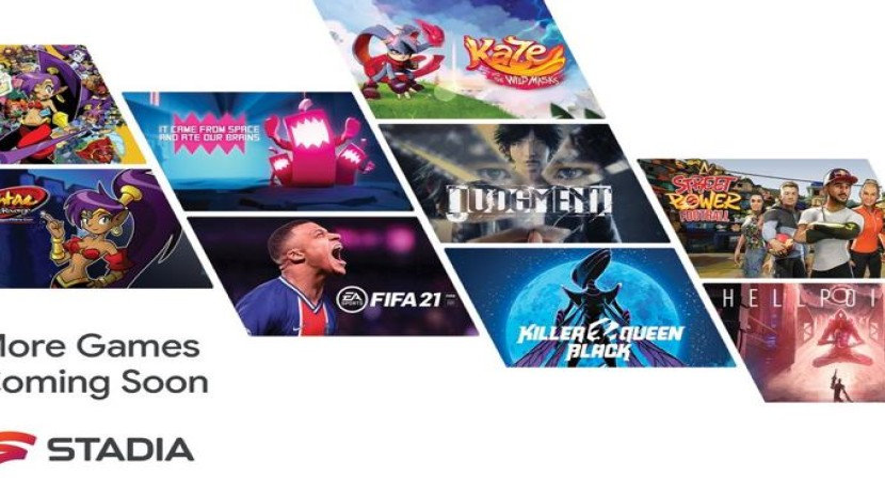 Stadia: Περισσότερα από 100 video games θα προστεθούν μέσα στο 2021