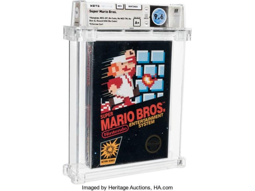 Παράνοια: Σφραγισμένο αντίτυπο του Super Mario Bros. πωλήθηκε έναντι $660,000!