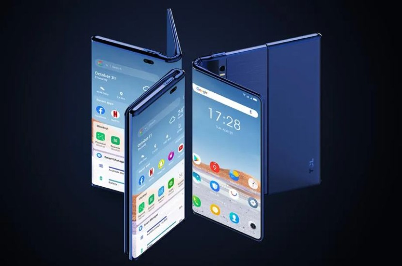 TCL Fold 'n Roll: Ένα concept smartphone με foldable και rollable οθόνη