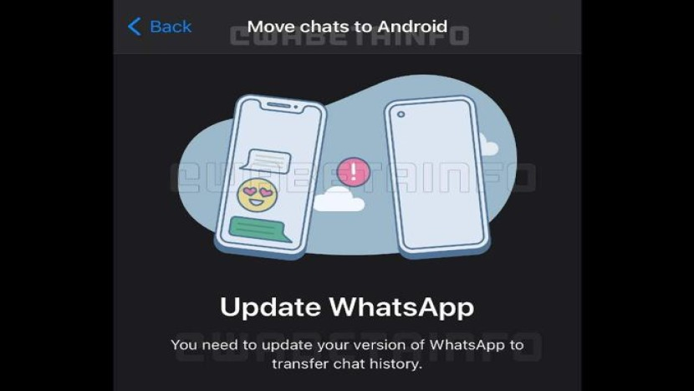 WhatsApp: Έρχεται νέο εργαλείο για τη μεταφορά συνομιλιών από iOS σε Android