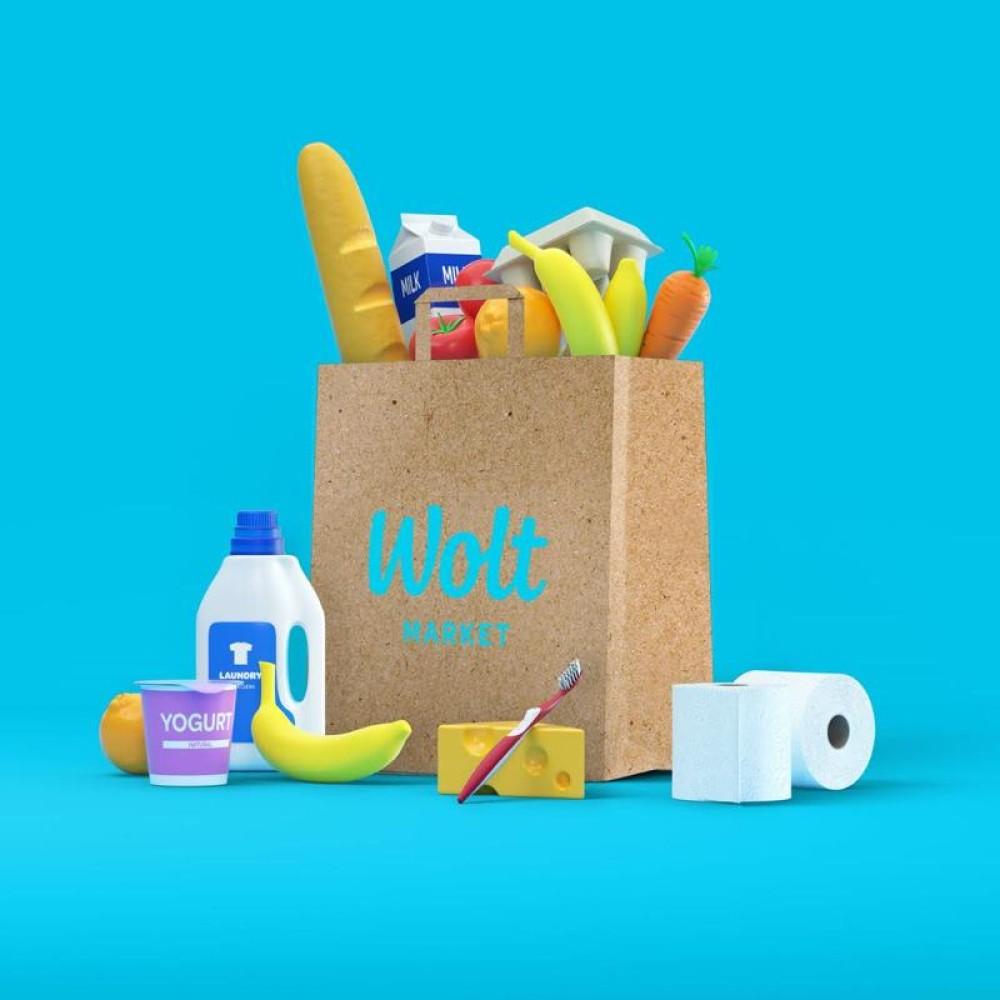 Wolt Market: Όλα τα ψώνια της εβδομάδας στην πόρτα σου