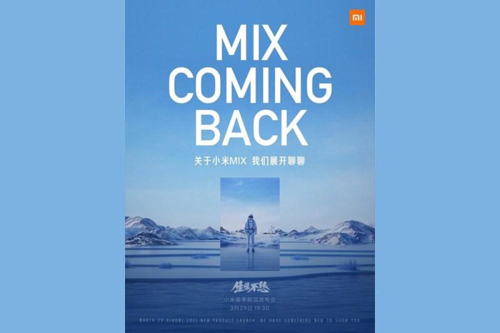 Επίσημο: Η σειρά Xiaomi Mi MIX επιστρέφει στις 29 Μαρτίου 2021!