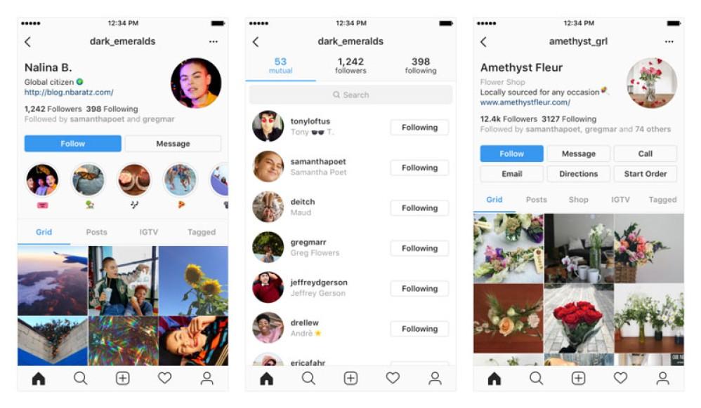 Instagram: Δοκιμάζει νέα σελίδα προφίλ για πιο καθαρή και άνετη χρήση