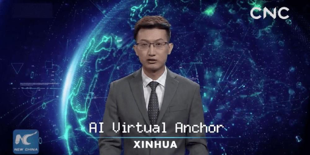 """Η κρατική υπηρεσία ειδήσεων της Κίνας αποκαλύπτει """"παρουσιαστές Τεχνητής Νοημοσύνης"""" [Videos]"""