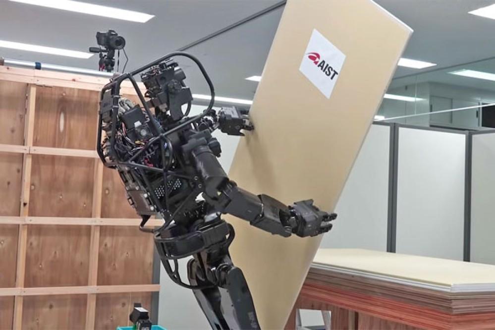 HRP-5P: Αυτό είναι ένα ανθρωποειδές ρομπότ που μπορεί να μεταφέρει και να τοποθετεί γυψοσανίδες [Video]