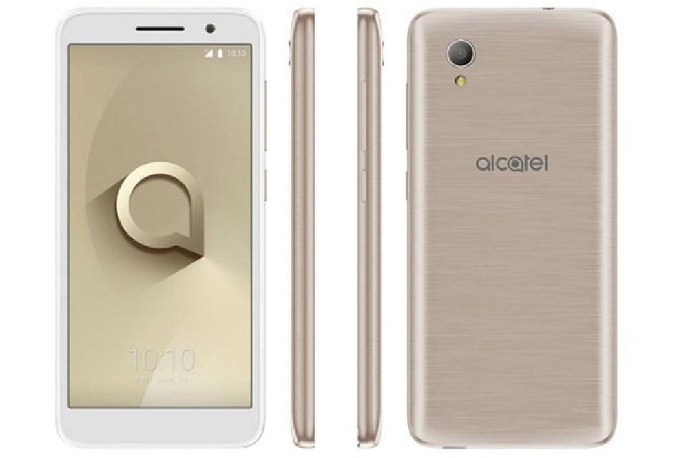 Alcatel 1: Νέα entry-level πρόταση με οθόνη 5.0'' 18:9 και Android Oreo (Go Edition)