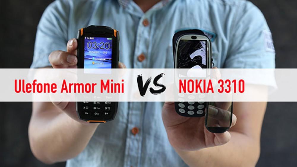 Ulefone Armor Mini: Το θωρακισμένο featurephone απέναντι στο νέο Nokia 3310 [Video]