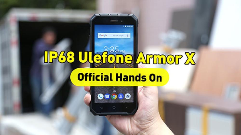 Ulefone Armor X: Πρώτο hands-on video για το θωρακισμένο smartphone