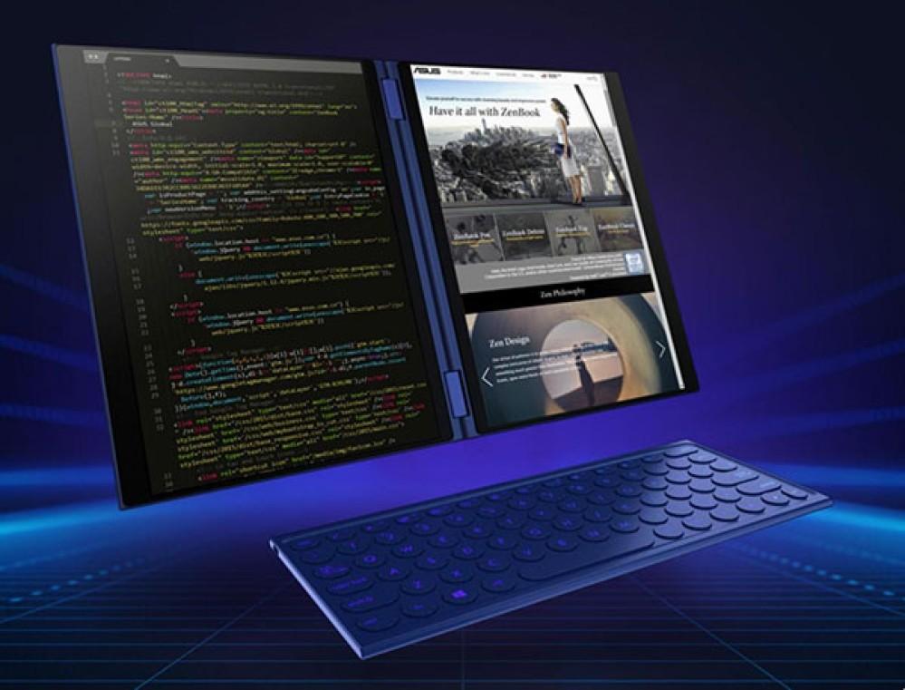 Asus Project Precog: Ένα πανέμορφο laptop με δύο οθόνες αφής και...μπόλικη Τεχνητή Νοημοσύνη