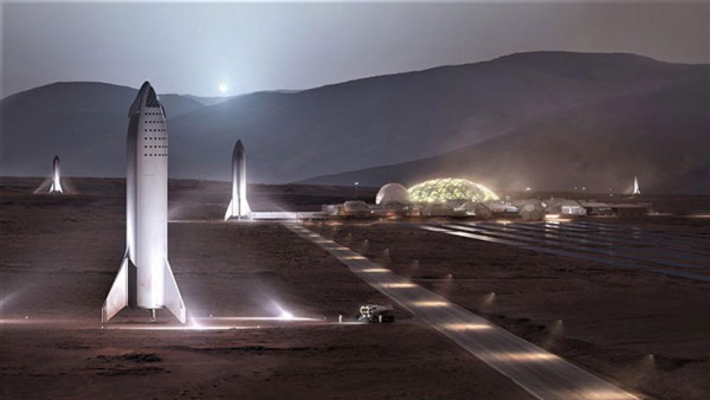 Ο Elon Musk παρουσιάζει το όραμα του για τη βάση στον πλανήτη Άρη [Pics]