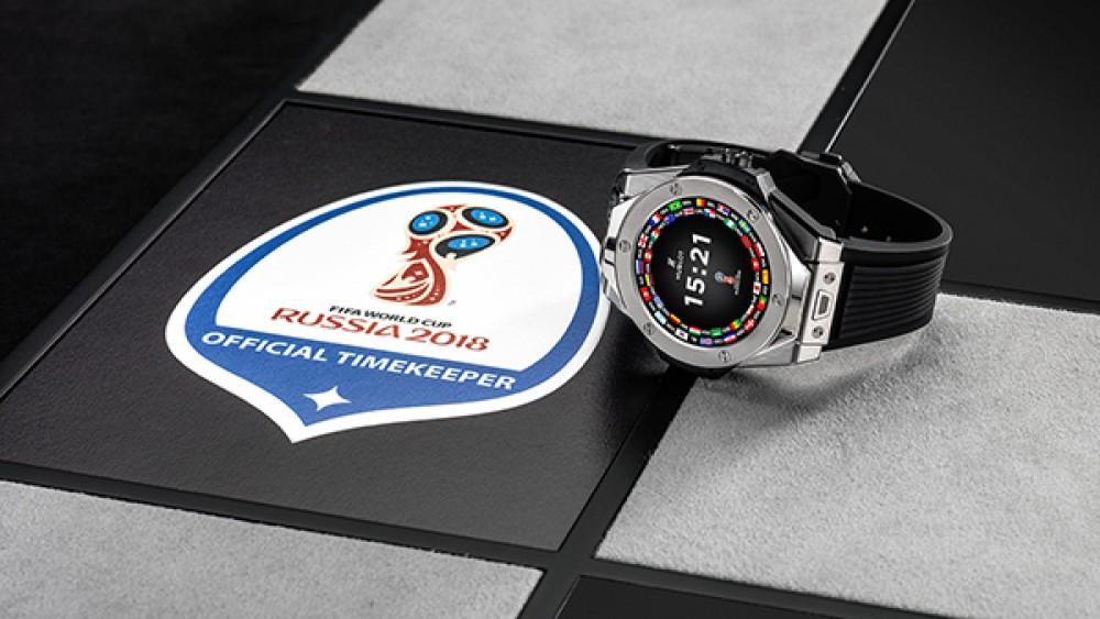 Αυτό είναι το smartwatch για τους διαιτητές του Παγκοσμίου Κυπέλλου της Ρωσίας με Wear OS από την Hublot
