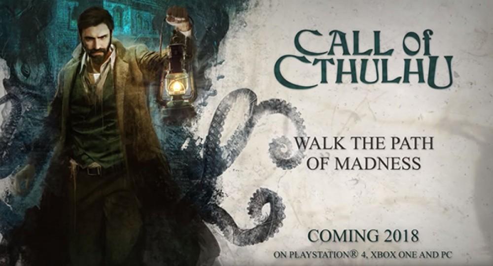 Call of Cthulhu: Νέο trailer για το παρανοϊκό horror adventure RPG από την E3 2018