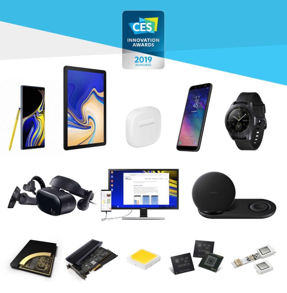 Samsung: 30 βραβεία CES 2019 Innovation Awards για τον εξαιρετικό σχεδιασμό και τη μηχανική των προϊόντων της