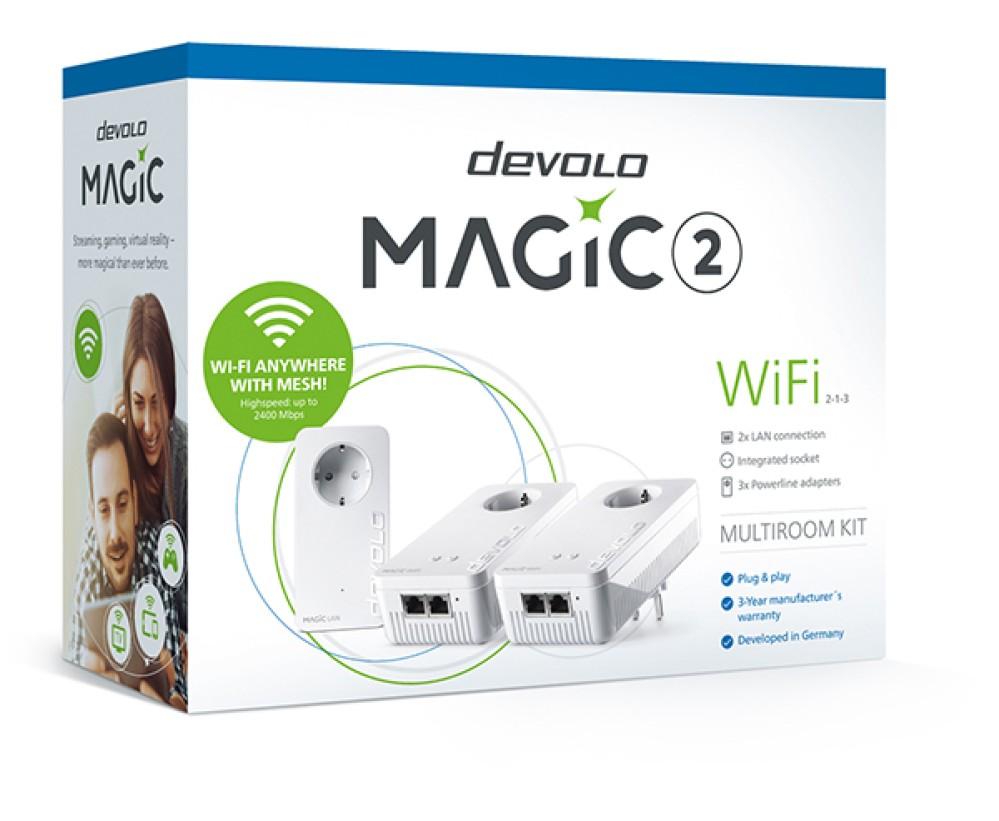 devolo Magic: Συγχωνεύει Mesh-WiFi και Powerline για ταχύτητες έως και 2.400 Mbps [IFA 2018]