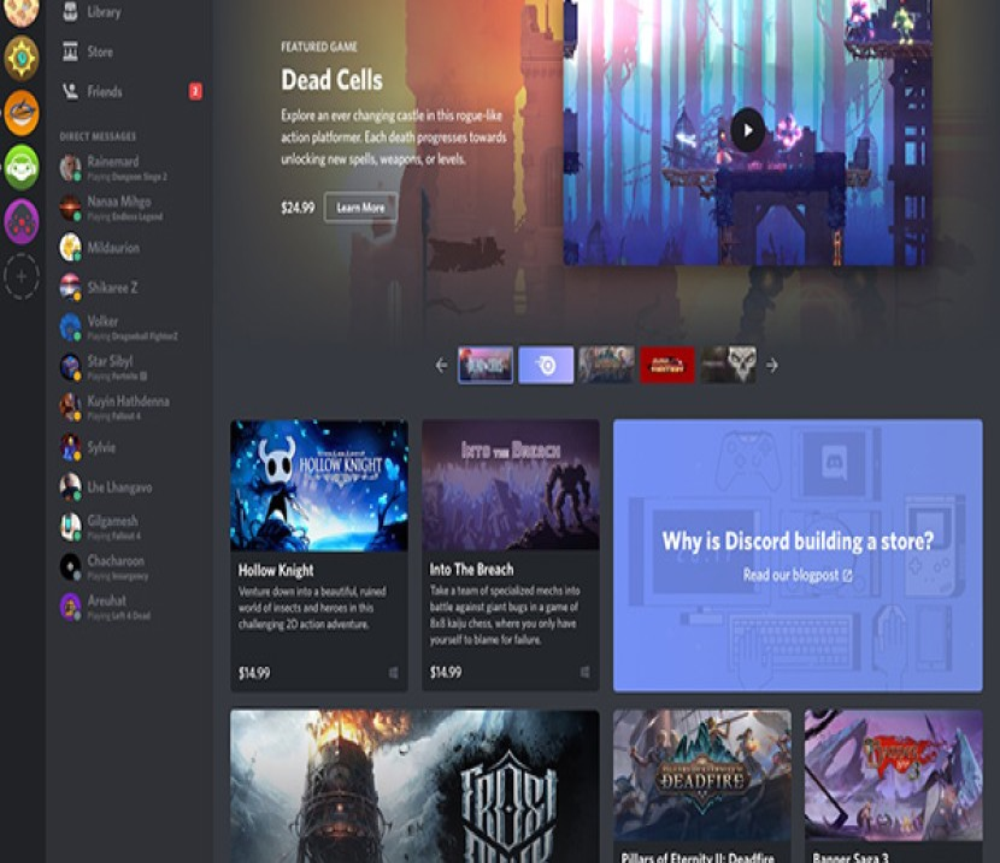 """Discord: Απαντά στο Steam της Valve με δικό της κατάστημα παιχνιδιών και το """"Netflix για games"""""""