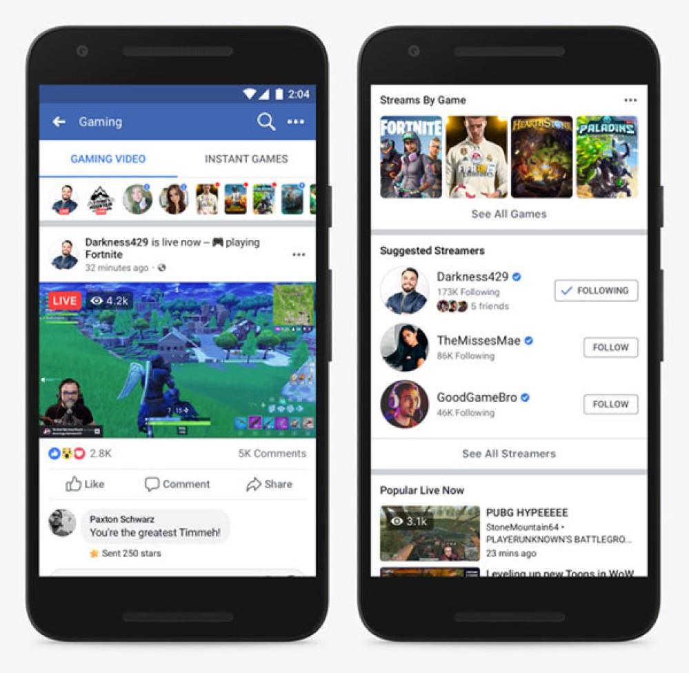 Η Facebook κοντράρει το Twitch με νέο gaming portal