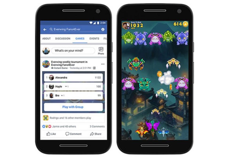 Facebook: Φέρνει τα Instant Games στα Groups και στη Lite έκδοση της εφαρμογής