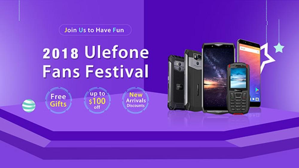 Ulefone Fans Festival με τεράστιες εκπτώσεις και πλούσια δώρα