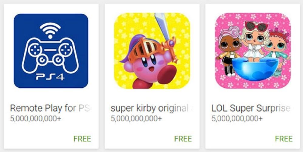 100αδες παραπλανητικές εφαρμογές στο Google Play χρησιμοποιούν νέα τεχνάσματα για να εμφανίζονται ως αξιόπιστες