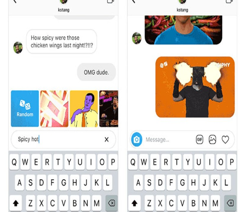Instagram: Τώρα μπορείς να στέλνεις GIFs και στα Direct messages στους φίλους σου