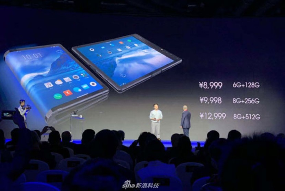 FlexPai: Παρουσιάστηκε το πρώτο αναδιπλώμενο smartphone/tablet σε πολύ υψηλή τιμή [Video]