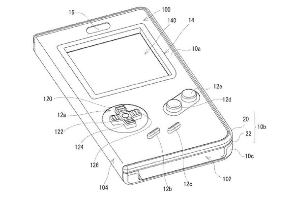 Η Nintendo κατοχύρωσε πατέντα για θήκη που μετατρέπει το smartphone σε Game Boy