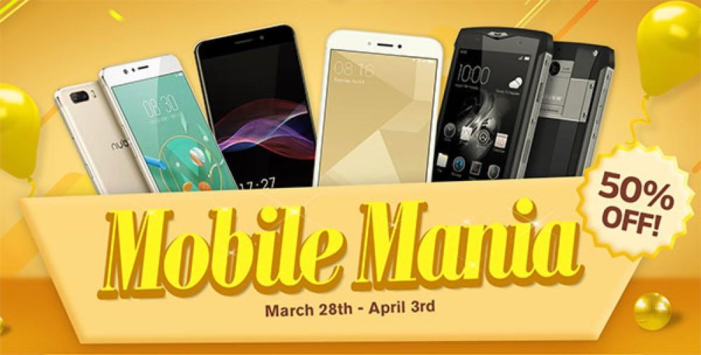 Mobile Mania στο Geekbuying με μεγάλες εκπτώσεις σε smartphones