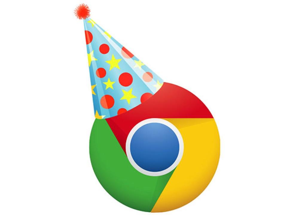 Google Chrome: Εορτασμός 10 χρόνων με Easter Egg για το Dino Game