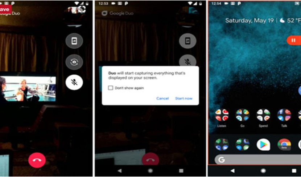 Google Duo: Νέα λειτουργία για να μοιράζεσαι σε πραγματικό χρόνο την οθόνη της Android συσκευής σου