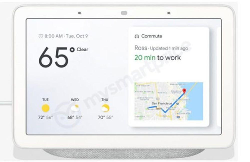 Google Home Hub: Αυτό θα είναι το νέο έξυπνο ηχείο της εταιρείας με οθόνη 7'' και πολλές νέες λειτουργίες