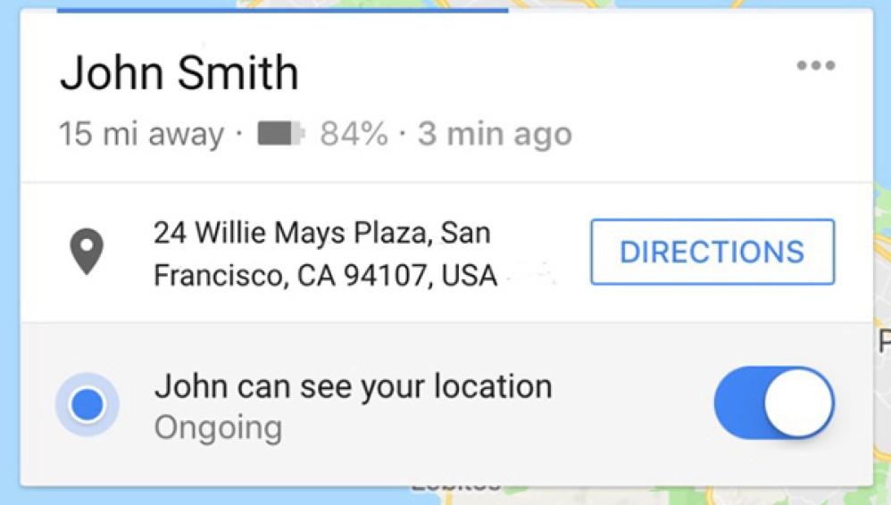 Google Maps: Τώρα εμφανίζει και το υπόλοιπο της μπαταρίας σου στους φιλους σου