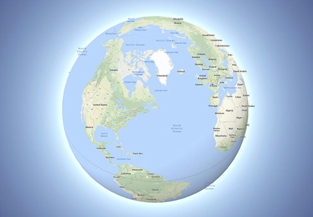 "Google Maps: Χτύπημα στους οπαδούς της ""επίπεδης Γης"" το νέο mode"