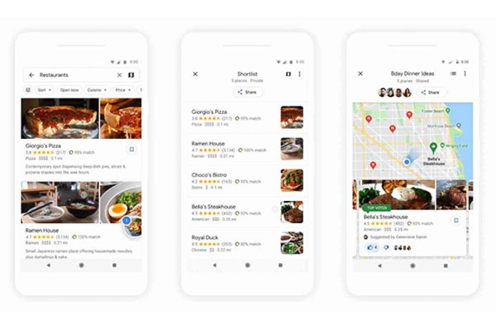 Google Maps: Νέα λειτουργία για να οργανώνεις δραστηριότητες παρέα με τους φίλους σου