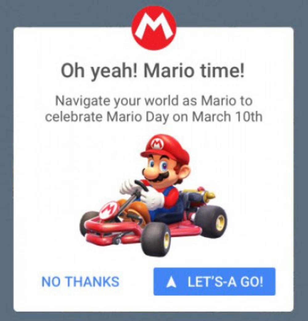 Google Maps: Τώρα πηγαίνεις στον προορισμό σου ως Mario επάνω σε kart για τον εορτασμό της Mario Day!